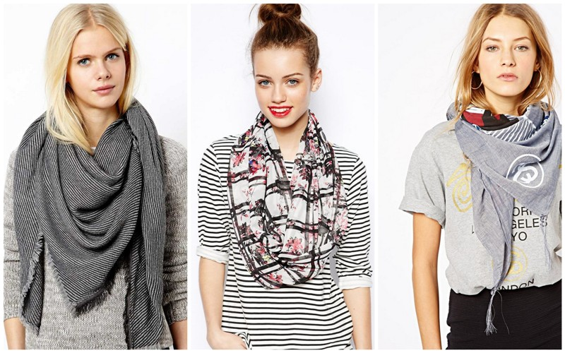 лаконичные шарфы
