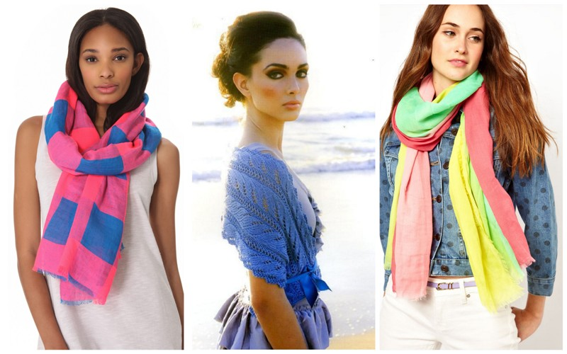 модные шарфы своими руками фото
