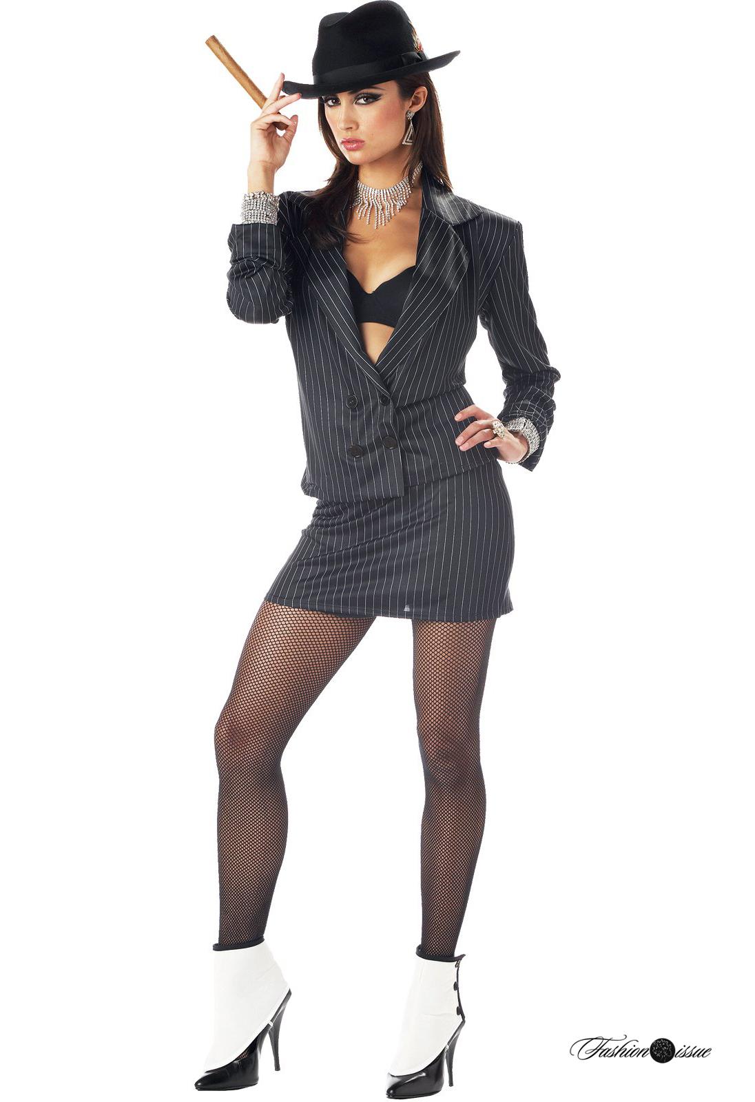 Гангстерский стиль одежды для женщин
