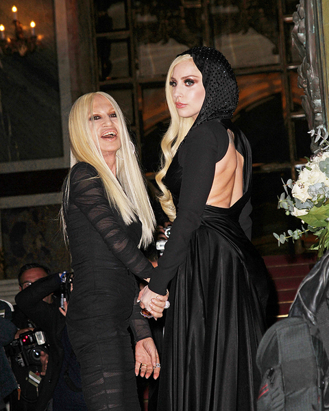 Леди Гага и Донателлы Версаче