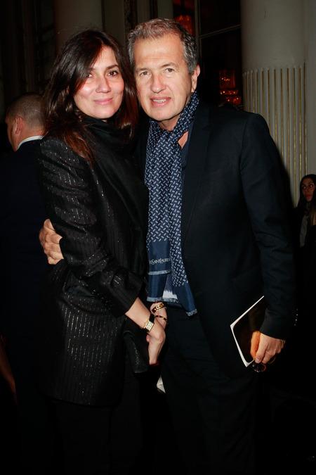 Emmanuelle Alt и Mario Testino.