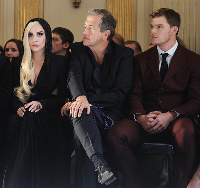 Леди Гага, Марио Тестино , Алан Ритсчон