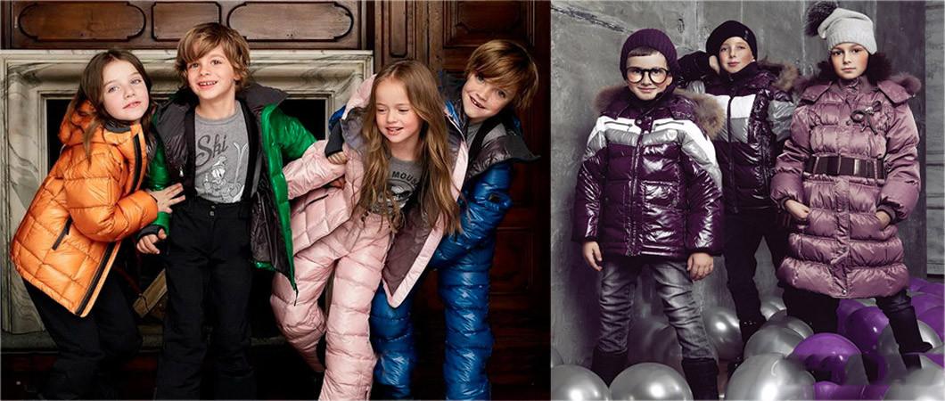 Детские пуховики. Фото моделей 2019 года разных возрастов