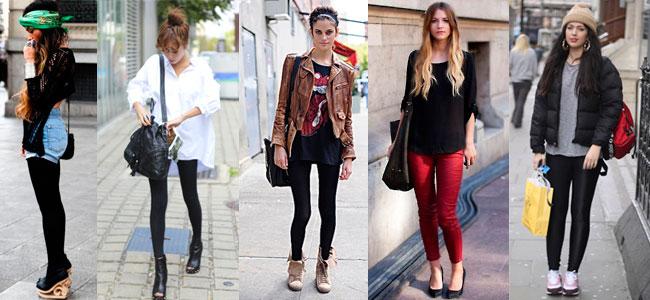 Модные леггинсы для девушек