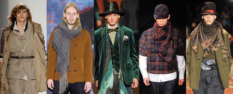 2bb57a661fa Шарфы осень - зима 2019  модные мужские и женские модели шарфов.
