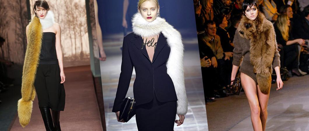 Шарфы осень — зима: модные тренды 2017-2018