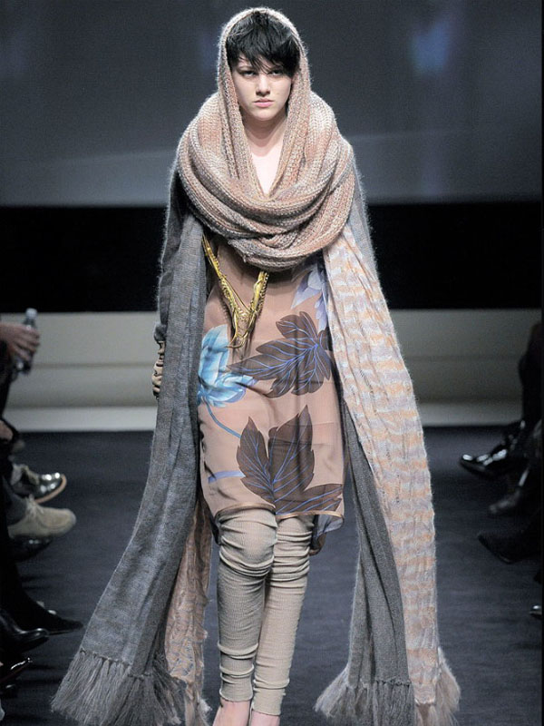 Модные снуд шарфы 2017