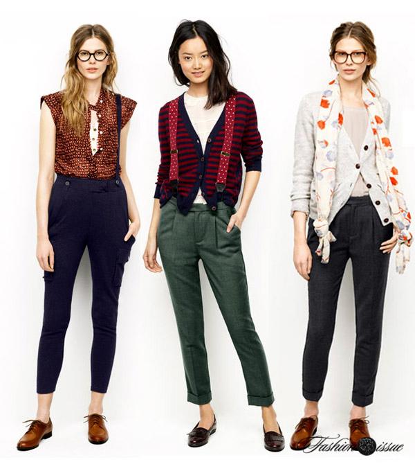 Современный стиль в одежде девушек