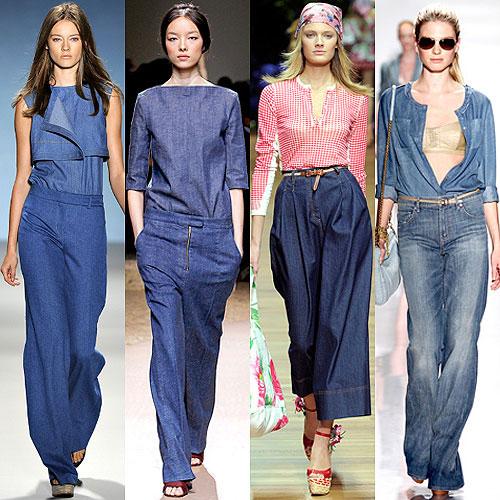 Стиль одежды джинсы 2017-2018
