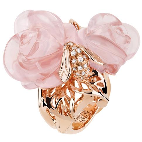 Кольцо Rose Dior