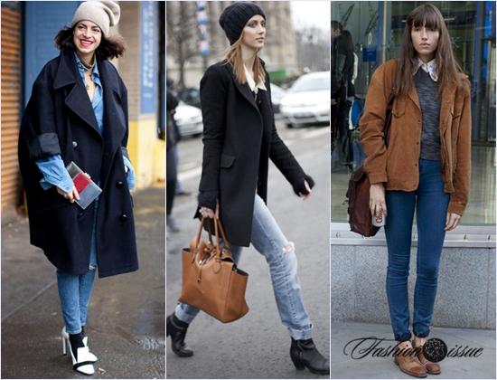 Зима 2017 Модные женские джинсы фото