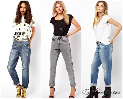 Модные джинсы фото 2017