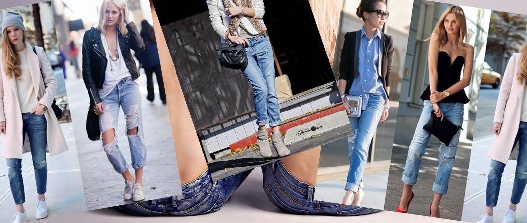 Зимние модные джинсы 2017
