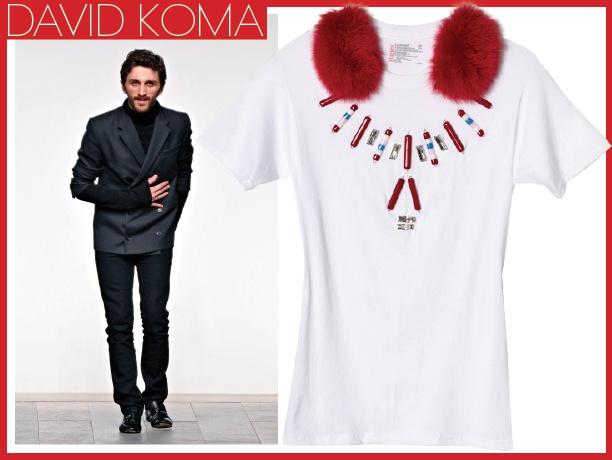 дизайнерская модная футболка
