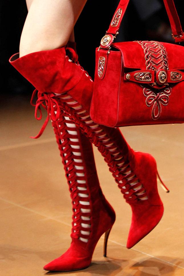 Versace сапоги