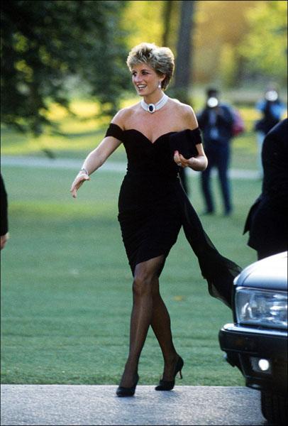 маленькое черное платье принцессы Дианы