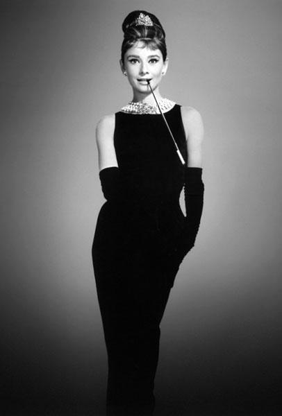 черное платье Givenchy