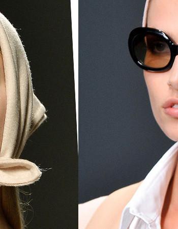 Пять способов как завязать платок