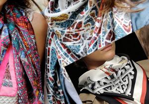 модные летние шарфы 2018