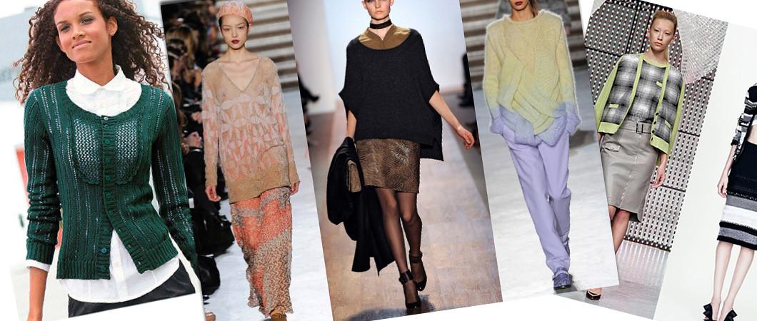 Женские кофты: модные коллекции сезона 2019