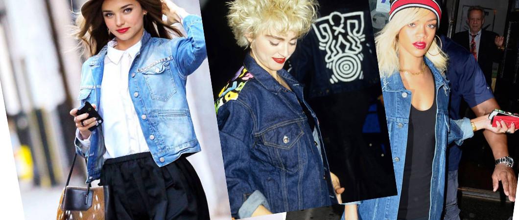 Вчара и сегодня: джинсовый жакет