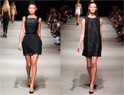черные летние сарафаны платья