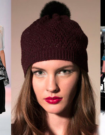 Модные женские вязаные шапки 2018-2019