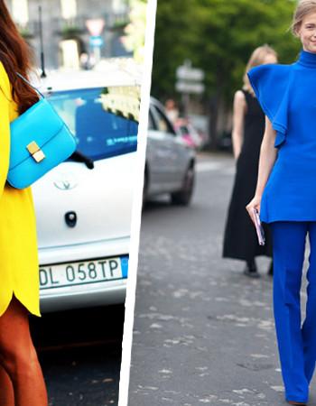 Популярные цвета в одежде летом 2018 года