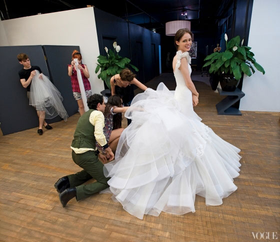 платье Zac Posen