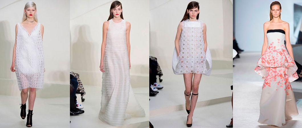 Самые красивые свадебные платья. Фото с парижских подиумов