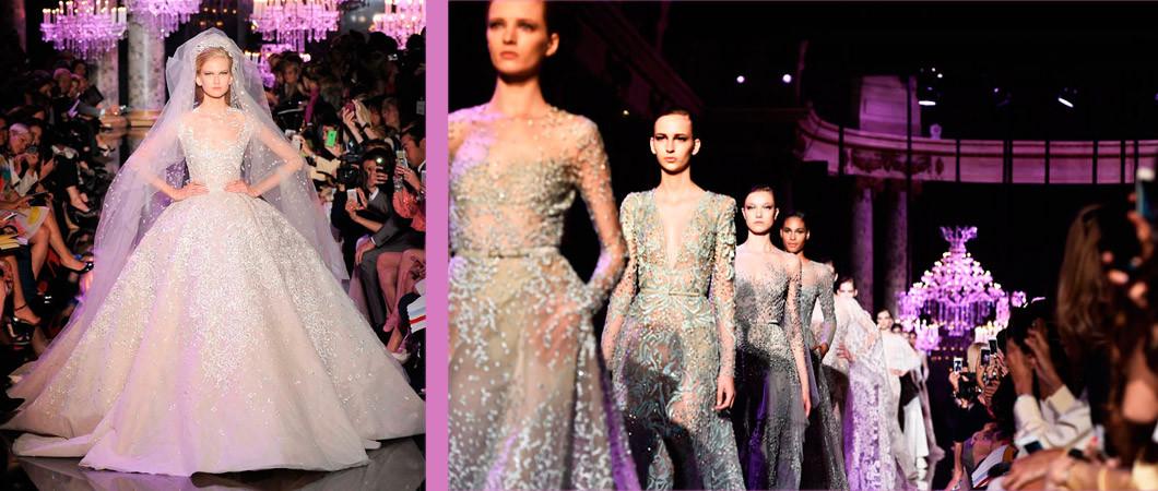Подвенечное платье: 33 фото с недели Высокой моды
