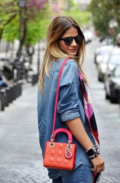 сумочка через плечо Dior