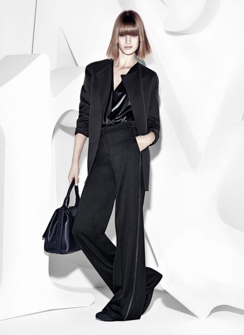 черный цвет в одежде: коллекция Max Mara фото 1
