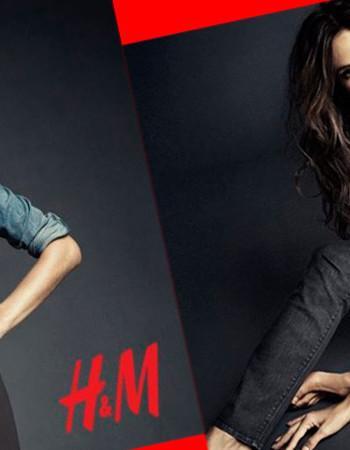 Алессандра Амбросио представила новинки из коллекции H&M