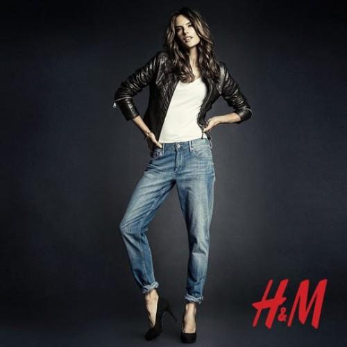 Алессандра Амбросио реклама H&M фото 12