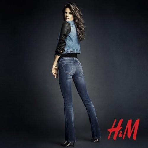 Алессандра Амбросио реклама H&M фото 8
