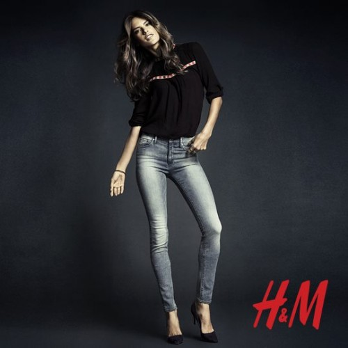 Алессандра Амбросио реклама H&M фото 7
