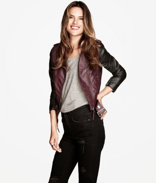 Алессандра Амбросио реклама H&M фото 5