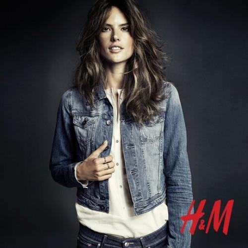 Алессандра Амбросио реклама H&M фото 11