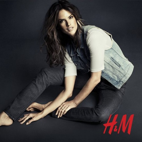 Алессандра Амбросио реклама H&M фото 13