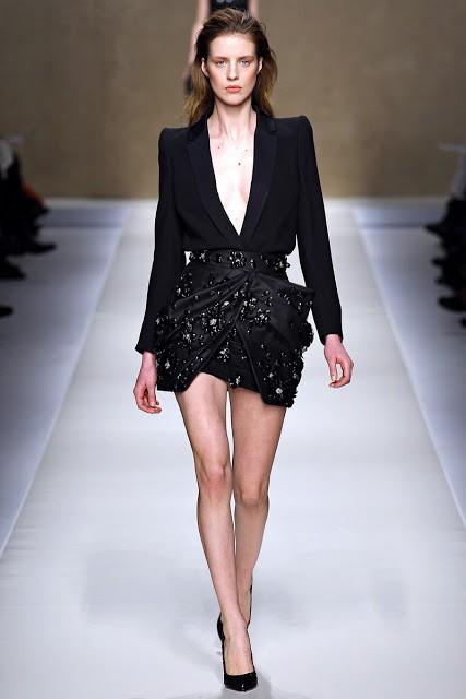черный цвет в одежде: коллекция Blumarine фото 2