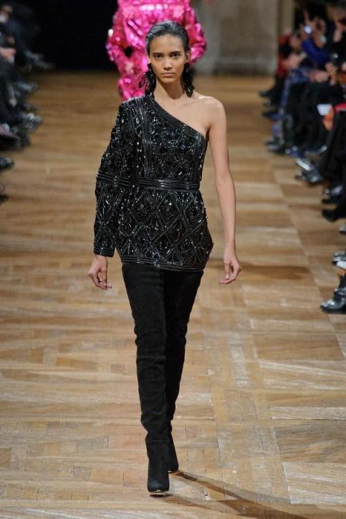 коллекция Balmain: черный цвет в одежде  фото 8