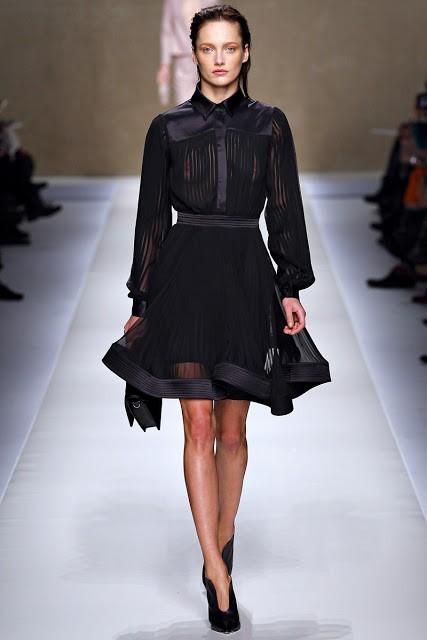 черный цвет в одежде: коллекция Blumarine фото 4