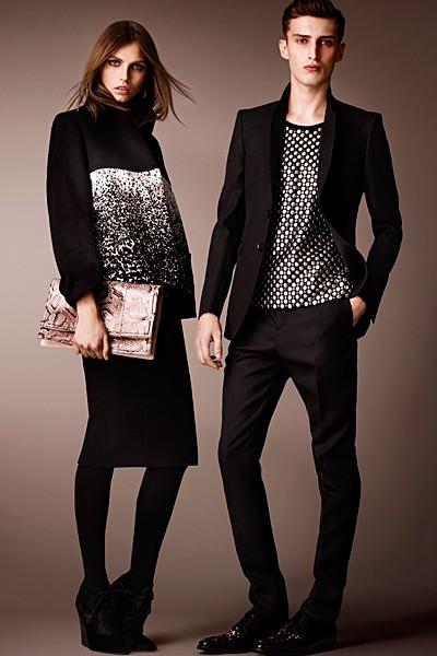 черный цвет в одежде: коллекция Burberry фото 2