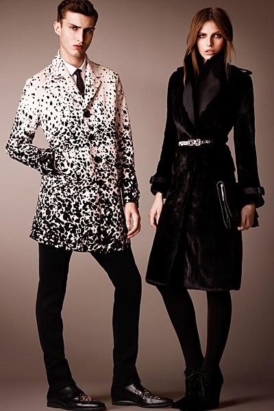 черный цвет в одежде: коллекция Burberry