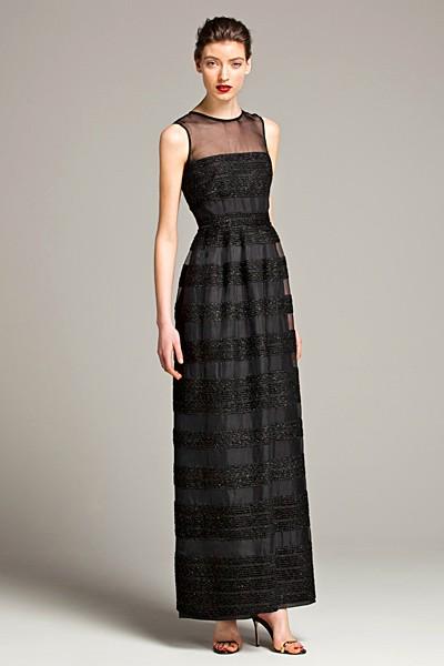 черный цвет в одежде: коллекция Carolina Herrera