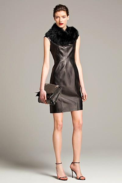 черный цвет в одежде: коллекция Carolina Herrera фото 2