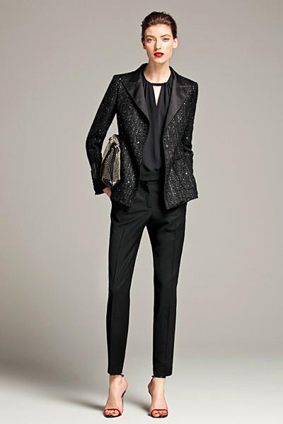 черный цвет в одежде: коллекция Carolina Herrera фото 7
