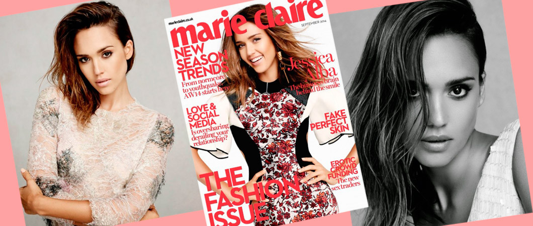 Джессика Альба осенью 2018 в журнале Marie Claire