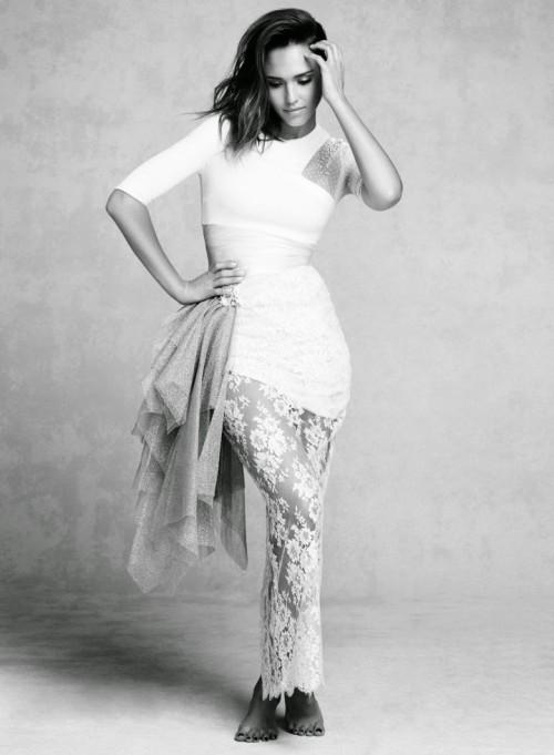 Джессика Альба осень 2019 Marie Claire фото 2
